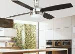 5 lustre de design cu ventilator care să îți răcorească vara și să-ți încânte privirile